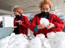 Aumento da produção das industrias chinesas garante combate global do Covid-19