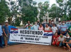 Paraguaios pressionam Congresso Nacional por justiça para vítimas do massacre de Curuguaty