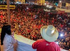 Campanha do 2º turno termina no Peru com Castillo liderando intenções de voto