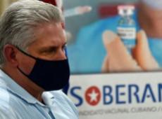 Vacunas cubanas contra Covid-19 estarán a disposición de América Latina, dice presidente Díaz-Canel