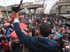 """""""Giammattei está de costas para o povo"""": Greve geral na Guatemala exige renúncia do presidente e Assembleia Constituinte"""