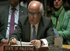 Palestina demanda en Naciones Unidas acabar con la ocupación ilegal de Israel