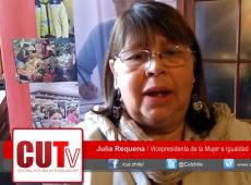 CUT chilena assume chamado à greve geral feminista e rechaça violações durante protestos