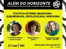Evento debate impacto da política externa do Brasil nas mulheres; saiba como assistir
