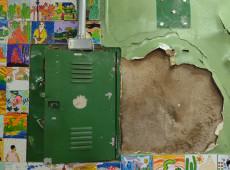 Volta às aulas em SP, no auge da pandemia, é marcada por sucateamento e falta de higiene; veja fotos