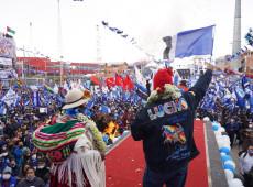 Eleição na Bolívia mostra uma mensagem acachapante de vitória do MAS