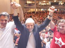 """""""Nós não aceitamos mais censura, tortura, AI-5 e perseguição a adversários políticos"""", diz Lula"""