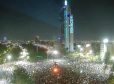 Celebrações tomam conta do Chile após aprovação de Assembleia Constituinte