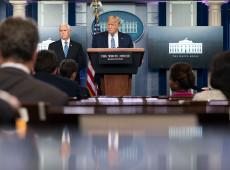 Confuso, inconsistente e contraproducente: governo de Trump é exposto por coronavírus