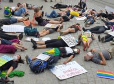 #ForaBolsonaro: Em ato na Alemanha, manifestantes denunciam genocídio em curso no Brasil; Veja fotos: