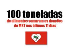 Conde e Carvall: A solidariedade do MST
