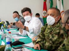 Senado da Colômbia rejeita moção de censura contra ministro da Defesa e protestos continuam
