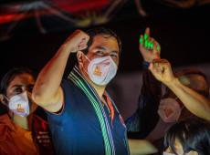 Ameaças à esquerda marcam última semana da campanha presidencial no Equador
