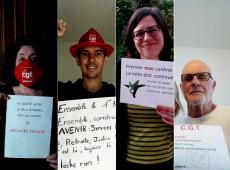 Em confinamento, França leva manifestações do 1º de Maio para janelas e redes sociais