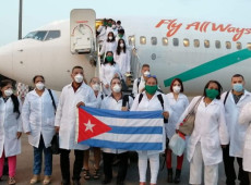 A pandemia de coronavírus em fotos: Cuba está orgulhosa, diz chanceler cubano sobre médicos na Itália - 23.mar.20