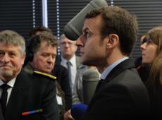 Brasileiros 'merecem um presidente que esteja à altura do cargo', diz Macron