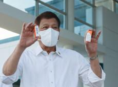 Covid-19: Presidente da Filipinas manda prender quem usar máscara de forma errada