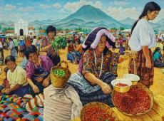 As vendedoras da aldeia: Tímidas, falam pouco, apenas o absolutamente necessário