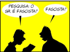 Charge do Maringoni: eu não sou fascista, não!