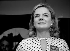 'Prioridade do PT é a unidade da esquerda', diz Gleisi Hoffmann