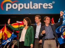 Pesquisas de opinião na Espanha preveem vitória da direita nas eleições regionais de Madri nesta terça
