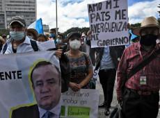 Após golpe, Giammattei sequestrou instituições para trabalhar a favor de sua política repressiva, diz líder sindical
