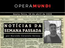 Há uma semana: mil mortos no Brasil, cem mil no mundo