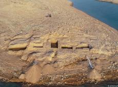 Seca no Iraque revela palácio de 3.400 anos