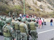 Grupo de Puebla rechaça repressão contra manifestantes no Equador