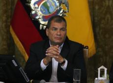 Ex-presidente Rafael Correa pede renúncia de Lenín Moreno e eleições antecipadas no Equador