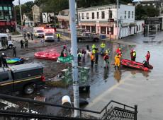 Nova York declara estado de emergência após passagem da tempestade Ida