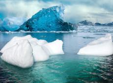 Aquecimento global acelerou degelo em 65% em três décadas