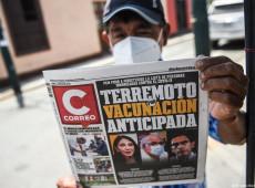 """Amostra Grátis: Vacinação ilegal que derrubou ministros no Peru seriam """"doses de cortesia"""""""