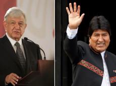 Presidente do México, López Obrador, impediu o assassinato de Evo Morales, garante chanceler da Bolívia