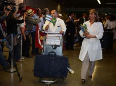 Em retorno a Cuba, médicos apoiam decisão do Governo Cubano e criticam Bolsonaro