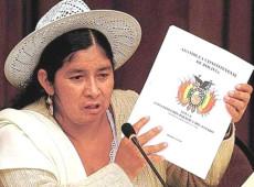"""Arce lamenta morte de Silvia Lazarte: """"Ela presidiu Constituinte que mudou a Bolívia"""""""
