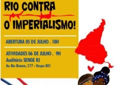 Rio contra o Imperialismo: I Encontro Estadual de Solidariedade à Revolução Bolivariana