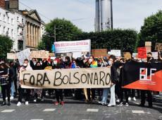 Milhares de brasileiros ao redor do mundo se juntam a protestos contra Bolsonaro