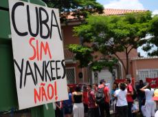 Esquerda reitera defesa da Revolução Cubana e expulsa extrema-direita em ato em SP