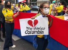Depois de seis dias internado, morre estudante baleado durante protestos na Colômbia