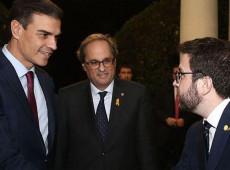 Presidente espanhol e líder separatista catalão se reúnem em Madri para restabelecer diálogo
