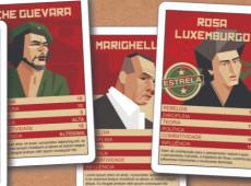 Veja todas as cartas publicadas no baralho Super-Revolucionários