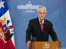 """""""Inação irresponsável"""": Aprovação de Piñera despenca com situação crítica da pandemia no Chile"""
