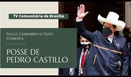 Pedro Castillo toma posse no Peru. E agora?