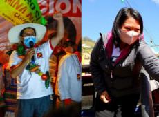 Peru: Boca de urna indica empate técnico entre Keiko Fujimori e Pedro Castillo