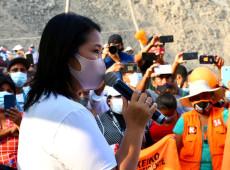 Atrás nas pesquisas, Keiko Fujimori ataca esquerda e pede que 'Evo, Lula e Maduro fiquem fora do Peru'