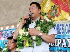 Candidato do MAS à Presidência da Bolívia pede que governo recorra à China para combater covid-19