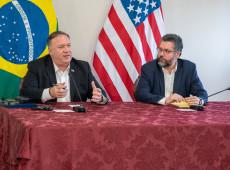 Após encontro com Pompeo, Brasil 'descredencia' diplomatas venezuelanos