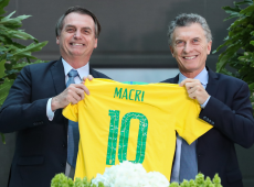 Argentinos dão aviso prévio para presidente argentino Maurício Macri, amigo de Bolsonaro