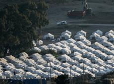 Situação de refugiados em Lesbos coloca UE sob pressão